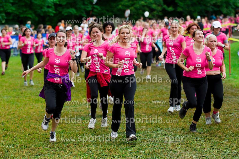 7th DM 5 km and 10 km Women's marathon, on June 2, 2012 in Tivoli, Ljubljana, Slovenia. (Photo by Vid Ponikvar / Sportida.com)