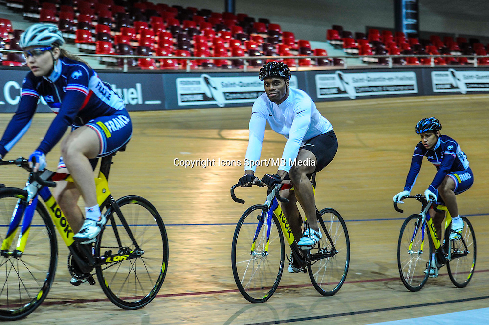 Gregory Bauge - 27.01.2015 -Entrainement Equipe de France de cyclisme sur piste - Saint Quentin en Yvelines <br />Photo : Anthony Dibon / Icon Sport