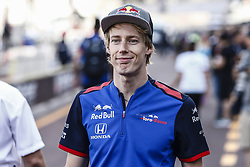 May 23, 2018 - Montecarlo, Monaco - 28 Brendon Hartley from New Zealand with Scuderia Toro Rosso Honda STR13 portrait during the Monaco Formula One Grand Prix  at Monaco on 23th of May, 2018 in Montecarlo, Monaco. (Credit Image: © Xavier Bonilla/NurPhoto via ZUMA Press)