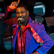 Terry Weeks performing with The Temptations at The Music Hall in Portsmouth, NH