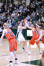 07 January 2017: Ashley Schneider and Maggie Dansdill  during an Wheaton Thunder and the Illinois Wesleyan Titans in Shirk Center, Bloomington IL