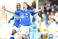 Harris celebrates for Millwall