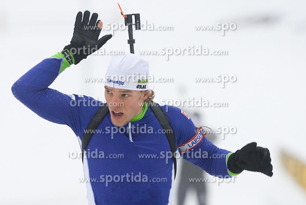 Vid Voncina at training session of Slovenian biathlon team before new season 2009/2010,  on November 16, 2009, in Pokljuka, Slovenia.   (Photo by Vid Ponikvar / Sportida)