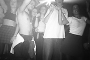 Crowd dancing, Dream FM Pirate Radio Benefit, Labyrinth Dalston, London, 1994.