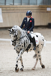 Dunham Anne, (GBR), LJT Lucas Normark<br /> Grade Ia Team Test<br /> Para-Dressage FEI European Championships Deauville 2015<br /> © Hippo Foto - Jon Stroud<br /> 18/09/15