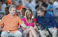 Family members of those killed in the Century theater shootings on July 20, 2012 grieve at a prayer vigil for the victims in Aurora, Colorado July 22, 2012. REUTERS/Rick Wilking (UNITED STATES)