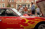 Car show: Biodiesel Veggie Car at the Energy Week fair near Baker Center