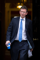 © Licensed to London News Pictures. 27/03/2018. London, UK. Attorney General Jeremy Wright QC leaves Downing Street after attending a Cabinet meeting this morning. Photo credit : Tom Nicholson/LNP