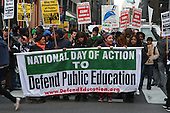 National Day of Protest to Defend Public Education held in New York City on March 4, 2010
