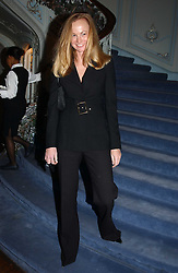 ANNA BILTON former wife of Anton Bilton at jewellers Tiffany's Christmas party held at The Savile Club, 69 Brook Street, London on 14th December 2004.<br /><br />NON EXCLUSIVE - WORLD RIGHTS