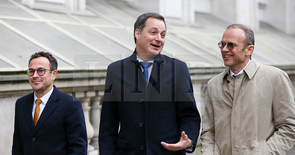 © Licensed to London News Pictures. 06/03/2019. London, UK. Alexander De Croo, Deputy Prime Minister of Belgium and Minister of Finance and Development Cooperation in Whitehall. Photo credit: Dinendra Haria/LNP