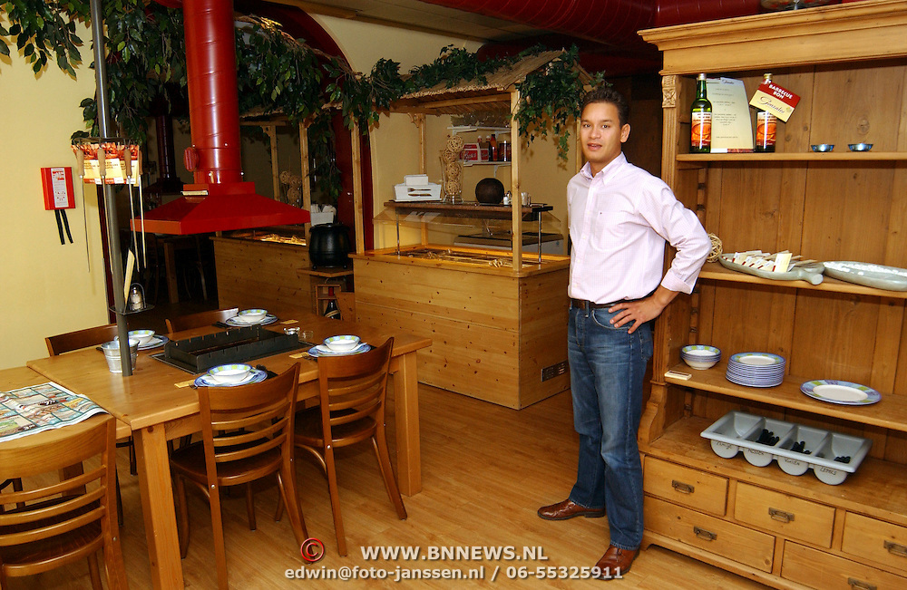 Restaurant Gonzales Voorstraat Ijsselsteijn, eigenaar Kamiel Leemreijzer