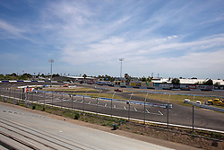 STOCKTON, CA - MAY 03:  General view of the Stockton 99 Speedway before the NASCAR K&N Pro Series West Stockton 150 on May 3, 2014 in Stockton, California. (Photo by Jason O. Watson/Getty Images for NASCAR) *** Local Caption ***
