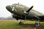 Wisconsin, USA, Oshkosh, Air Venture Experimental Aviation Association (EAA) Museum, Douglas C-47 Skytrain or Dakota, November 2006