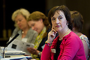 No fee for Repro: 4/07/2012.Kathleen O'Meara, Head of Advocacy & Communications with the Irish Cancer Society is pictured at the ?Women and Smoking: Time to Face the Crisis? conference today where the Irish Cancer Society highlighted how the tobacco industry is aggressively targeting women and girls in the hope to recruit more women smokers. The conference, held in association with the National Women's Council of Ireland, addessed the crisis of women and smoking and the fact that for the first time more women in Ireland are dying from lung cancer than breast cancer. Picture: Andres Poveda