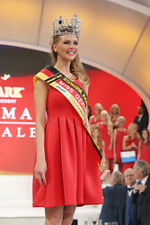28.02.2015, Europapark Dom, Rust, GER, Miss Germany Wahl 2015, im Bild Miss Germany 2015, Olga Hofmann (Miss Pearl.tv 2015) // during the election to Miss Germany 2015 at the Europapark Dom in Rust, Germany on 2015/02/28. EXPA Pictures © 2015, PhotoCredit: EXPA/ Eibner-Pressefoto/ BW-Foto<br /> <br /> *****ATTENTION - OUT of GER*****