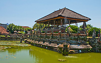 Hall of Justice at Kerta Gosa in Klungklung in Bali Indonesia