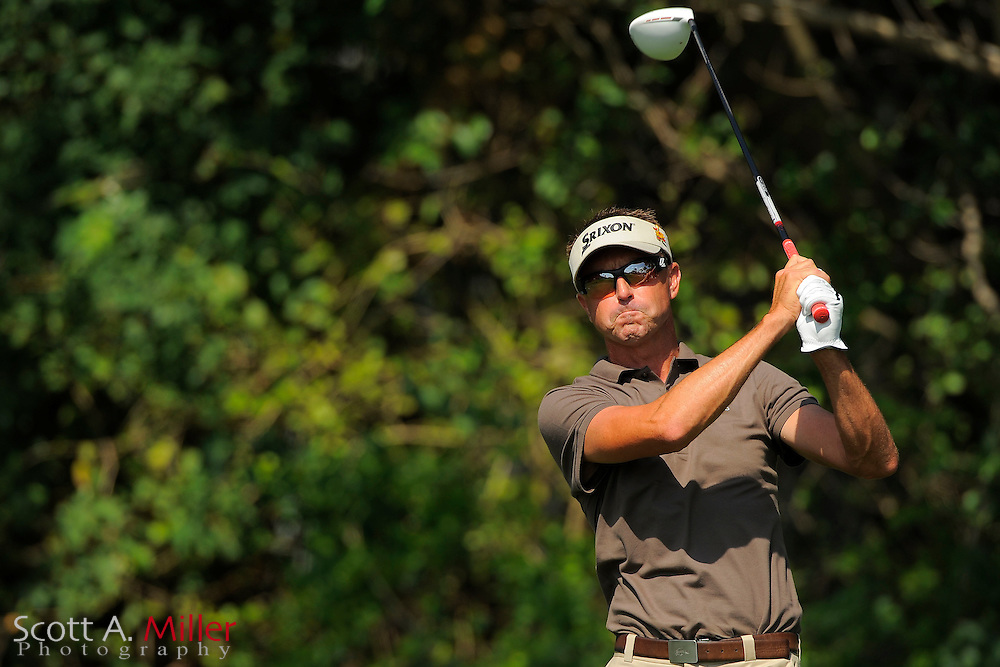 Robert Allenby during the third round of the Honda Classic at PGA National on March 3, 2012 in Palm Beach Gardens, Fla. ..©2012 Scott A. Miller.