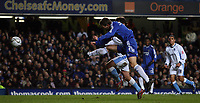 Photo: Paul Thomas.<br /> Chelsea v Wycombe Wanderers. Carling Cup, Semi Final 2nd Leg. 23/01/2007.<br /> <br /> Andriy Shevchenko (Blue) scores his second for Chelsea.