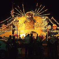Egyptian circus entrance - Alexandria, Egypt