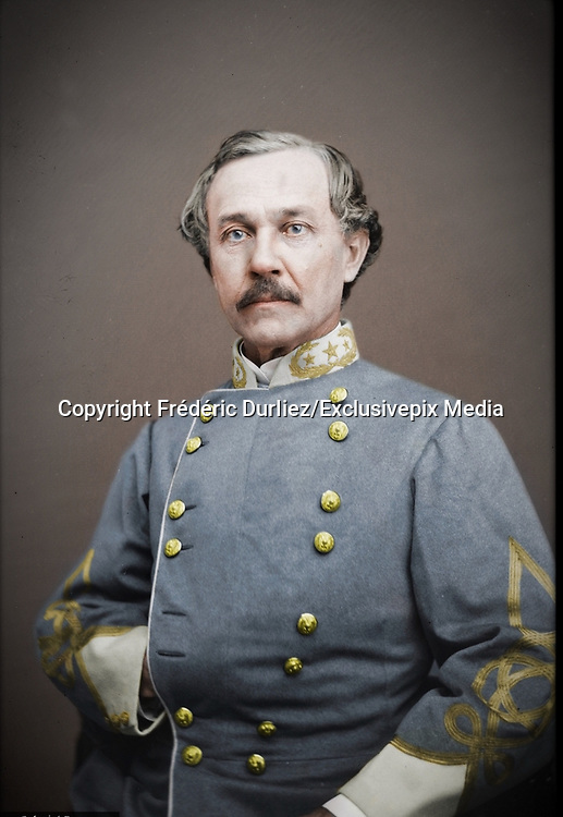 Stunning portraits from American Civil War  bright back to life in colour<br /> <br /> Portrait of Brig. Gen. Joseph R. Anderson, officer of the Confederate Army. (February 16, 1813 – September 7, 1892)<br /> <br /> Joseph R. Anderson,was an American civil engineer, industrialist, and soldier. During the American Civil War he served as a Confederate general, and his Tredegar Iron Company was a major source of munitions and ordnance for the Confederate States Army.<br /> <br /> ©Frédéric DurIiez/Exclusivepix Media
