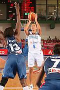 DESCRIZIONE : Chieti Italy Italia Eurobasket Women 2007 Italia Italy Francia France <br /> GIOCATORE : Maria Chiara Franchini <br /> SQUADRA : Nazionale Italia Donne Femminile EVENTO : Eurobasket Women 2007 Campionati Europei Donne 2007<br /> GARA : Italia Italy Francia France <br /> DATA : 26/09/2007 <br /> CATEGORIA : Tiro <br /> SPORT : Pallacanestro <br /> AUTORE : Agenzia Ciamillo-Castoria/E.Castoria Galleria : Eurobasket Women 2007 <br /> Fotonotizia : Chieti Italy Italia Eurobasket Women 2007 Italia Italy Francia France <br /> Predefinita :