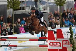 Stuhlmeyer Patrick, (GER), Lacan<br /> CSI4* Grand Prix DKB-Riders Tour<br /> Horses & Dreams meets Denmark - Hagen 2016<br /> © Hippo Foto - Stefan Lafrentz