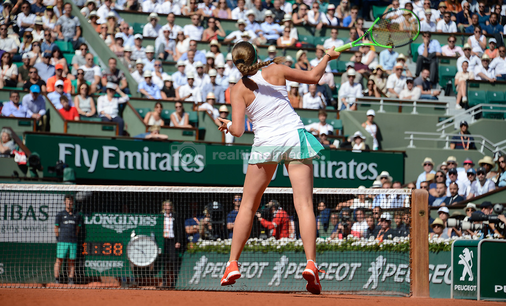 June 8, 2017 - Paris, France - Jelena Ostapenko  (Credit Image: © Panoramic via ZUMA Press)