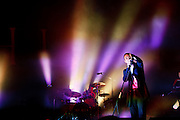 Hurts performing at the 19th Festival International of Benicassim, Spain