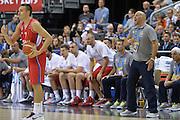 DESCRIZIONE : Berlino Berlin Eurobasket 2015 Group B Spain Serbia <br /> GIOCATORE :  Bogdan Bogdanovic Sasha Djordjevic<br /> CATEGORIA :  Fair Play Curiosita<br /> SQUADRA : Serbia<br /> EVENTO : Eurobasket 2015 Group B <br /> GARA : Spain Serbia <br /> DATA : 05/09/2015 <br /> SPORT : Pallacanestro <br /> AUTORE : Agenzia Ciamillo-Castoria/I.Mancini<br /> Galleria : Eurobasket 2015 <br /> Fotonotizia : Berlino Berlin Eurobasket 2015 Group B Spain Serbia