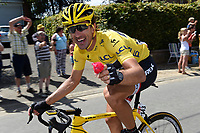 Sykkel<br /> Foto: PhotoNews/Digitalsport<br /> NORWAY ONLY<br /> <br /> CANCELLARA Fabian of Trek Factory Racing showing a rose during the stage 3 of the 102nd edition of the Tour de France 2015 with start in Antwerp and finish in Huy, Belgium (159 kms) *** HUY, BELGIUM - 6/07/2015
