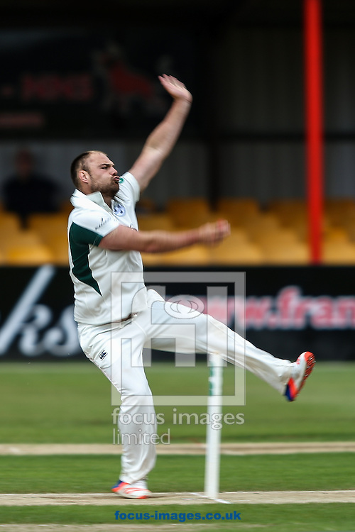 Joe Leach of Worcestershire CCC in delivery stride  during the Specsavers County C'ship Div Two match at the County Ground, Northampton<br /> Picture by Andy Kearns/Focus Images Ltd 0781 864 4264<br /> 11/07/2016