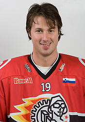 Ales Remar at HK Acroni Jesenice Team roaster for 2009-2010 season,  on September 03, 2009, in Arena Podmezaklja, Jesenice, Slovenia.  (Photo by Vid Ponikvar / Sportida)