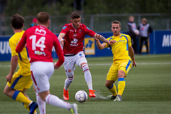 Jan Repas of NK Domzale during 1st Leg football match between FC Valur Reykjavik and NK Domzale in 2nd Qualifying Round of UEFA Europa League 2017/18, on July 13, 2017 in Reykjevik, Iceland. Photo by Ziga Zupan / Sportida