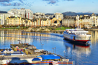 The Coho Ferry, Victoria Harbour