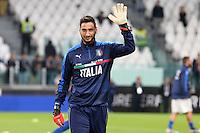 06.10.2016 - Torino - Qualificazioni Mondiali Russia 2016 - Italia-Spagna - Nella foto : Gianluigi Donnarumma - Nazionale Italia Calcio