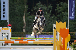 Kommers Sjoerd, NED, Jumper D'Oase<br /> KWPN Kampioenschappen - Ermelo 2019<br /> © Hippo Foto - Dirk Caremans<br /> Kommers Sjoerd, NED, Jumper D'Oase