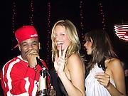 Damon Dash, Victoria's Secret Models Carolina & Alexandra<br />Victoria's Secret Post Show Party<br />The Armory<br />New York, NY, USA<br />Thursday, November 14, 2002<br />Photo By Celebrityvibe.com