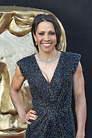 LONDON - MAY 27: Kelly Holmes attends the Arqiva British Academy Television Awards at the Royal Festival Hall, London, UK. May 27, 2012. (Photo by Richard Goldschmidt)