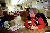 Head shots, staff and patient shots, and features of the Hospice House taken Friday, March 28, 2014 in Hayden, Idaho.
