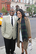 27 April 2010-New York, NY- l to r: Andre Harrell and Tiffany Limos at the Tribeca Film Premiere of ' The Killer Inside Me' held at The School of Visual Arts 2 Theater on April 28, 2010 in New York City.