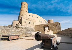 Exterior view of Bahla Fort in Oman