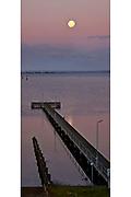 Corio Bay moonrise