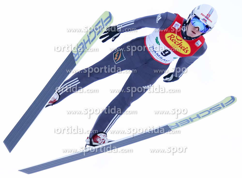17.12.2016, Nordische Arena, Ramsau, AUT, FIS Weltcup Nordische Kombination, Skisprung, im Bild Viacheslav Barkov (RUS) // Viacheslav Barkov of Russian Federation during Skijumping Competition of FIS Nordic Combined World Cup, at the Nordic Arena in Ramsau, Austria on 2016/12/17. EXPA Pictures © 2016, PhotoCredit: EXPA/ Martin Huber