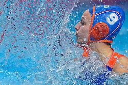 21-01-2020 HUN: European Water polo Championship, Budapest <br /> Slovakia - Netherlands 2—32 / Maartje Keuning #9 of Netherlands during LEN European Aquatics Waterpolo on January 21, 2020. SVK vs Netherlands in Duna Arena in Budapest, Hungary