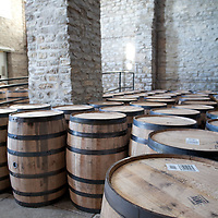 Barrels at Woodford Reserve Distillery