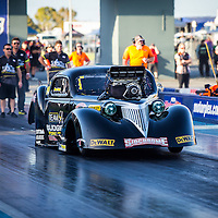 Pino Priolo - 144 - Team Budget Forklifts - 1937 Chevrolet Coupe - Top Competition (T/D)