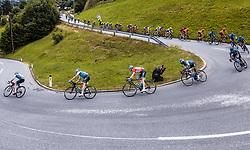 11.07.2019, Kitzbühel, AUT, Ö-Tour, Österreich Radrundfahrt, 5. Etappe, von Radstadt nach Fuscher Törl (103,5 km), im Bild Ben Hermans (Israel Cycling Academy, BEL) im Peloton // Ben Hermans (Israel Cycling Academy, BEL) im Peloton during 5th stage from Bruck an der Glocknerstraße to Kitzbühel (161,9 km) of the 2019 Tour of Austria. Kitzbühel, Austria on 2019/07/11. EXPA Pictures © 2019, PhotoCredit: EXPA/ JFK