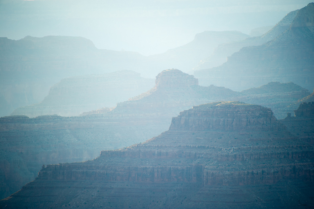 Early Fog at the Grand Canyon