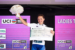 Chiara Consonni (ITA) is the best young rider at Ladies Tour of Norway 2018 Stage 1, a 127.7 km road race from Rakkestad to Mysen, Norway on August 17, 2018. Photo by Sean Robinson/velofocus.com